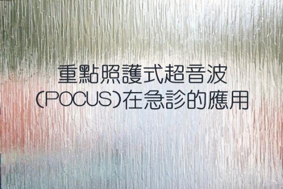重點照護式超音波(POCUS)在急診的應用